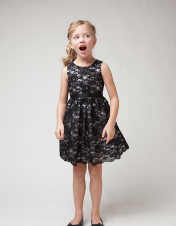 Black lace dress sale $40. Little girls gorgeous lace dress. Sleeveless, knee high dress with taffeta ribbon.
