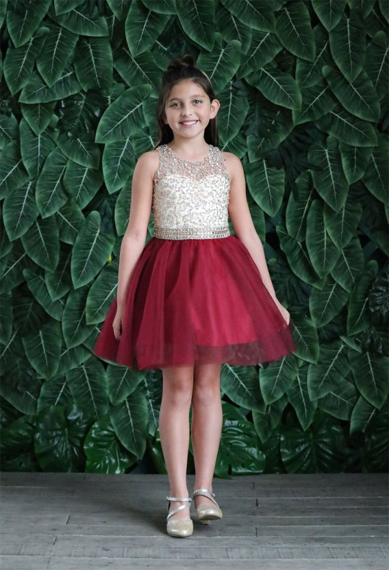 short pageant dress