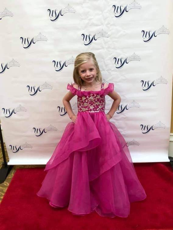 little girls pageant dress