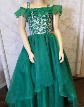 green dress sale