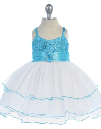 Turquoise Baby Easter Dress Sale