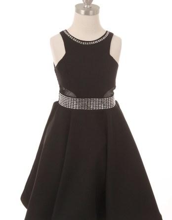 little girls black fall dress