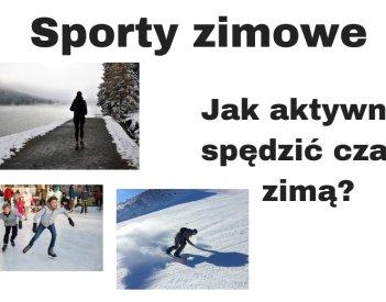 Sporty zimowe dla każdego - jak aktywnie spędzić czas zimą?