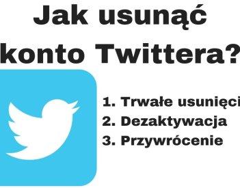 Jak usunąć konto na Twitterze?
