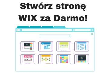 Jak stworzyć stronę internetową za darmo WIX krok po kroku!