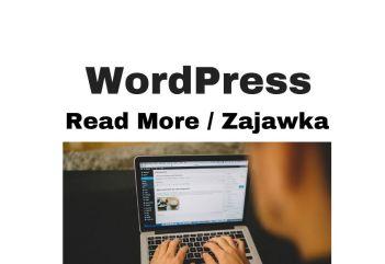 Read More Excerpt Zajawka WordPress. Jak zmienić i dlaczego!