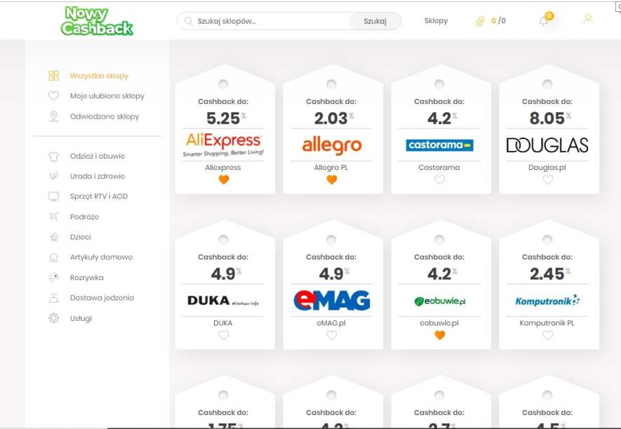 NowyCaskBack-zarabianie-przez-zwrot-z-zakupów