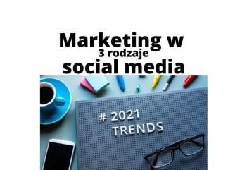 3 rodzaje marketingu w mediach społecznościowych warte uwagi