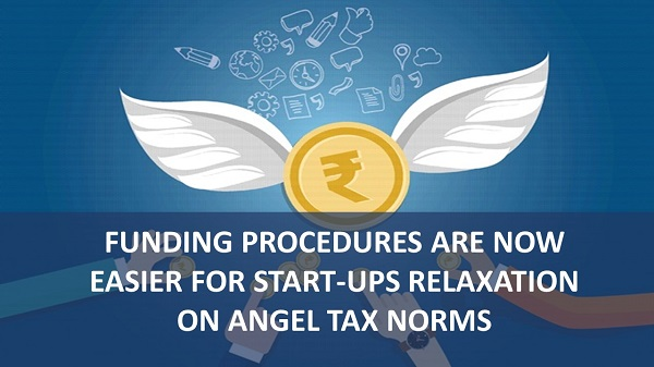 Relaxed angel tax for startups