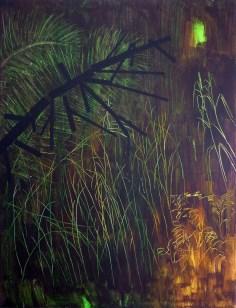 les / forrest, 150x115 cm, akryl na plátně / acrylic on canvas, 2014