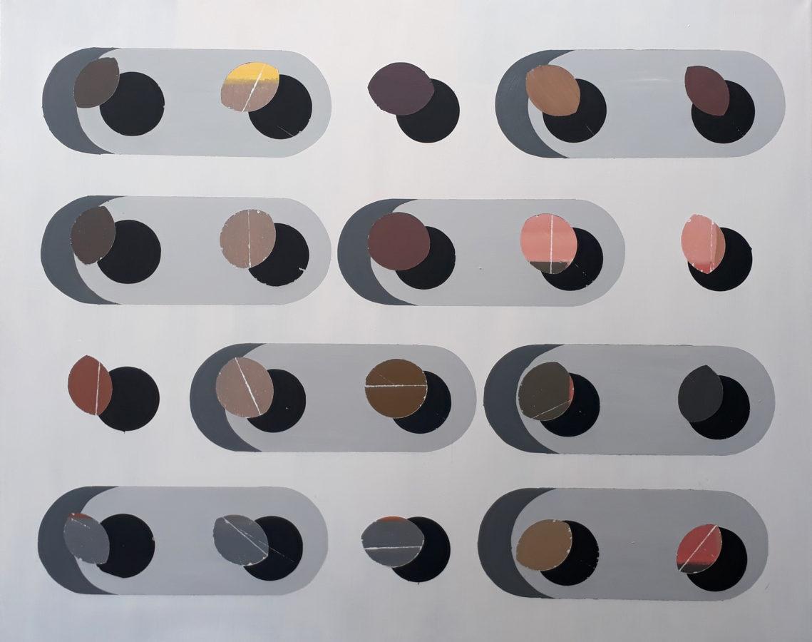 telemann, 115x95 cm, akryl na plátně / acrylic on canvas, 2019