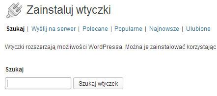 Jak instalować wtyczki w wordpress