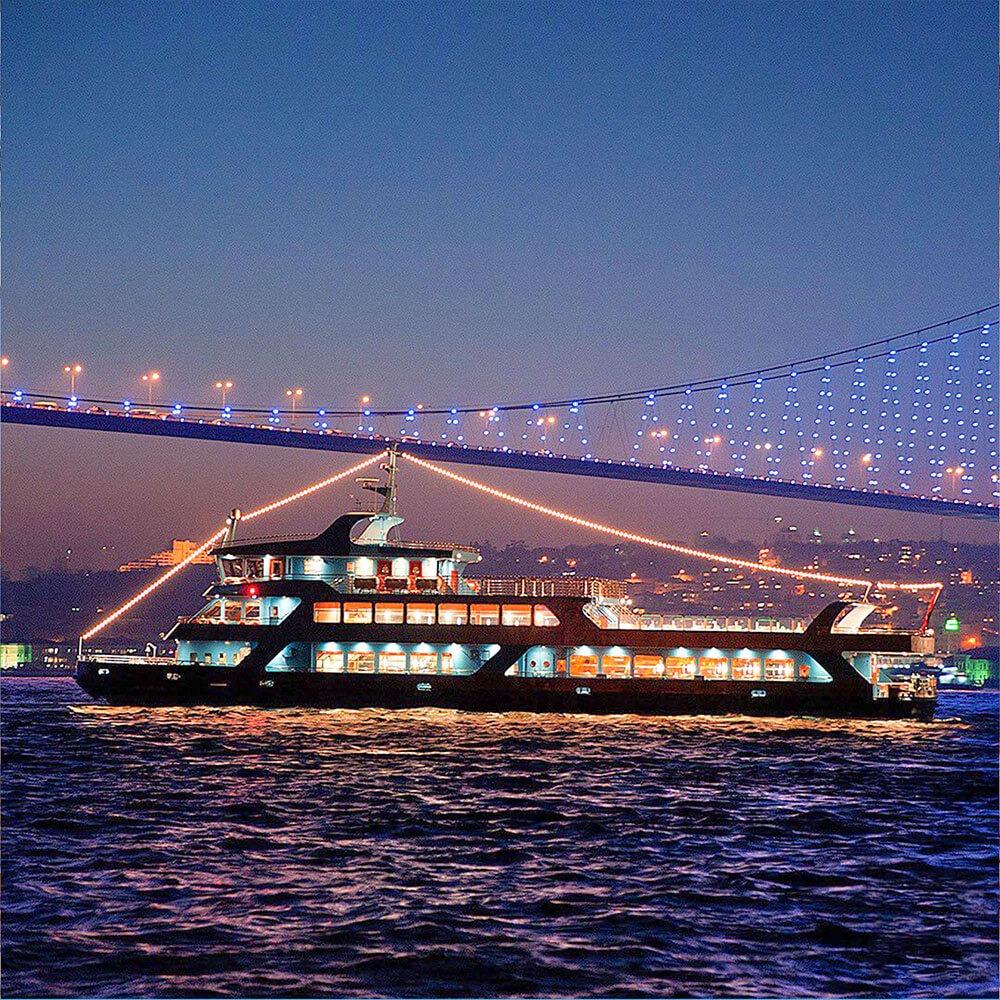 Bosphorus Dinner Cruise Tour with Turkish Show