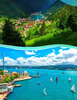 Package tour Istanbul - Trabzon