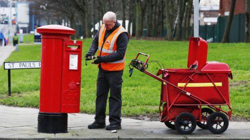 Postman at Work