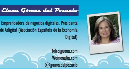 El perfil emprendedor de: Elena Gómez del Pozuelo, teleciguena.com