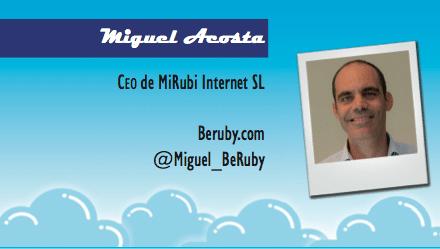 El perfil emprendedor de: Miguel Acosta, Beruby.com
