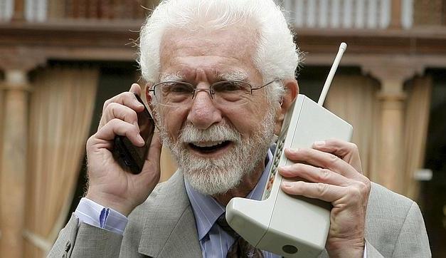 El teléfono móvil cumple 40 años… y yo con estos pelos