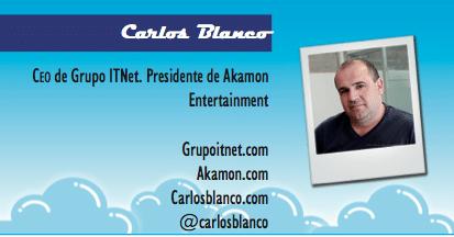 El perfil emprendedor de: Carlos Blanco, grupoitnet.com