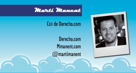 El perfil emprendedor de: Martí Manent, derecho.com