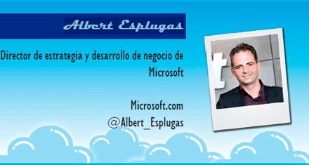 El perfil emprendedor de: Albert Esplugas, microsoft.com