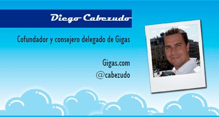 El perfil emprendedor de: Diego Cabezudo, gigas.com