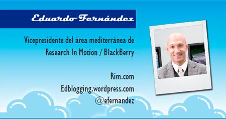 El perfil emprendedor de: Eduardo Fernández, rim.com