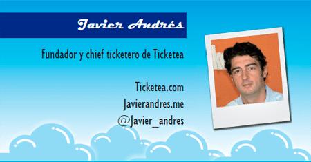 El perfil emprendedor de: Javier Andrés, ticketea.com