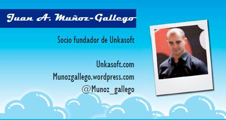 El perfil emprendedor de: Juan A. Muñoz-Gallego, unkasoft.com