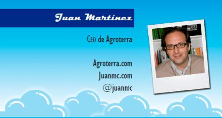 El perfil emprendedor de: Juan Martínez, agroterra.com