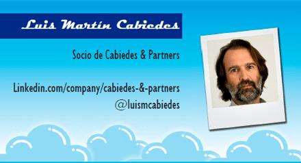 El perfil emprendedor de: Luis Martín Cabiedes