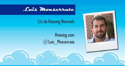 El perfil emprendedor de: Luis Monserrate, homing.com