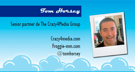 El perfil emprendedor de: Tom Horsey, froggie-mm.com