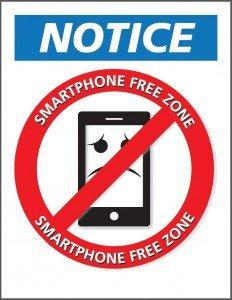 smartphone-free-zone