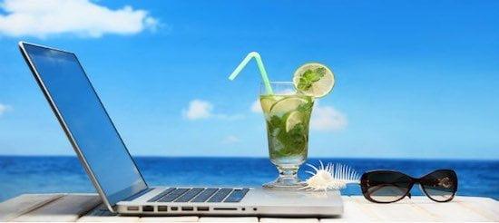 negocio vs vacaciones