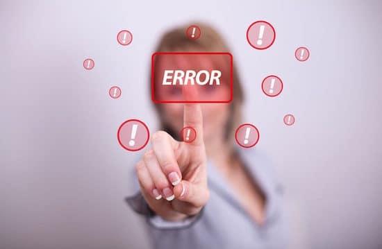 9 errores de marketing que debes evitar