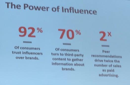 El poder de la influencia. The power of influence