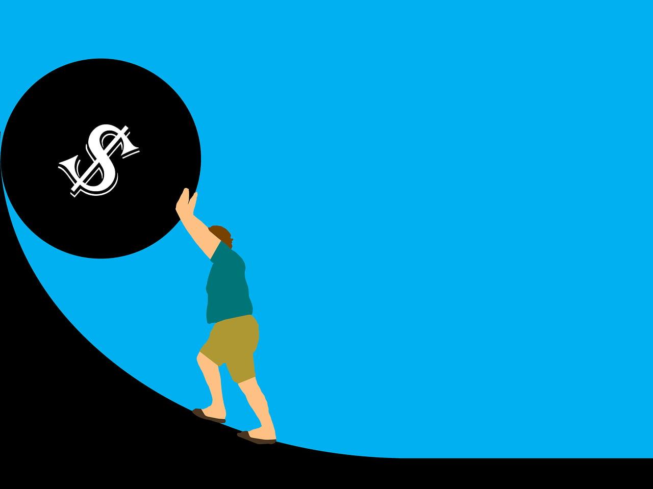 debt, money, credit