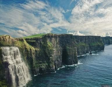 landscape, fantasy, sea