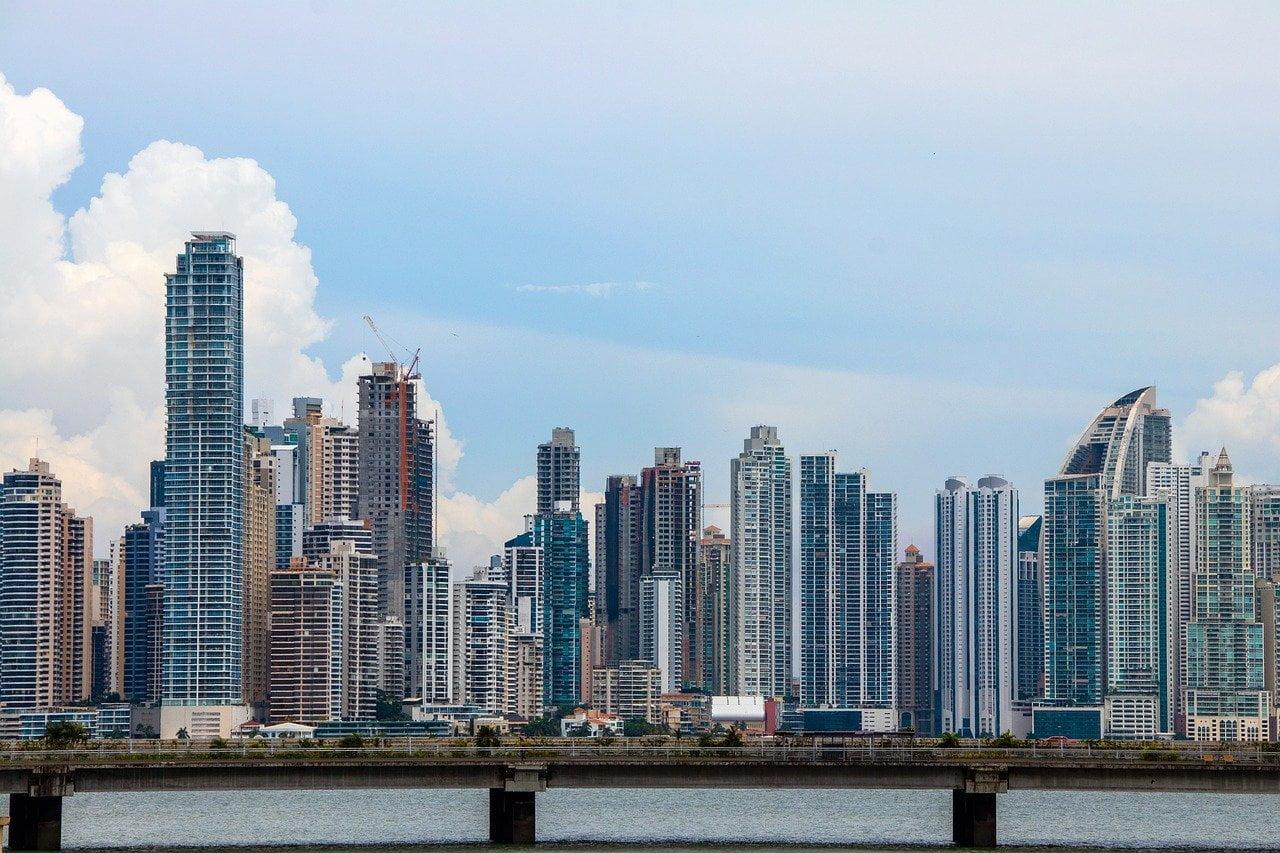 panama, city, skyline