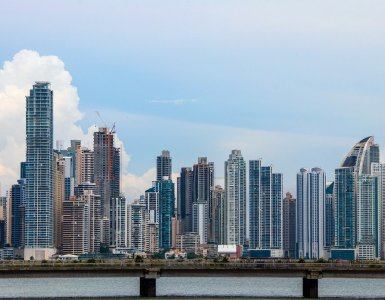 panama, city, skyline