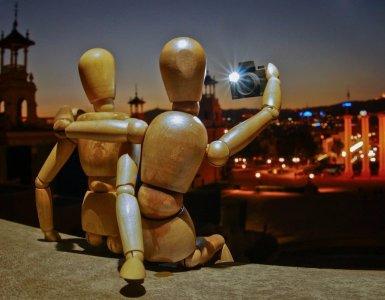 selfie, mannequin, people