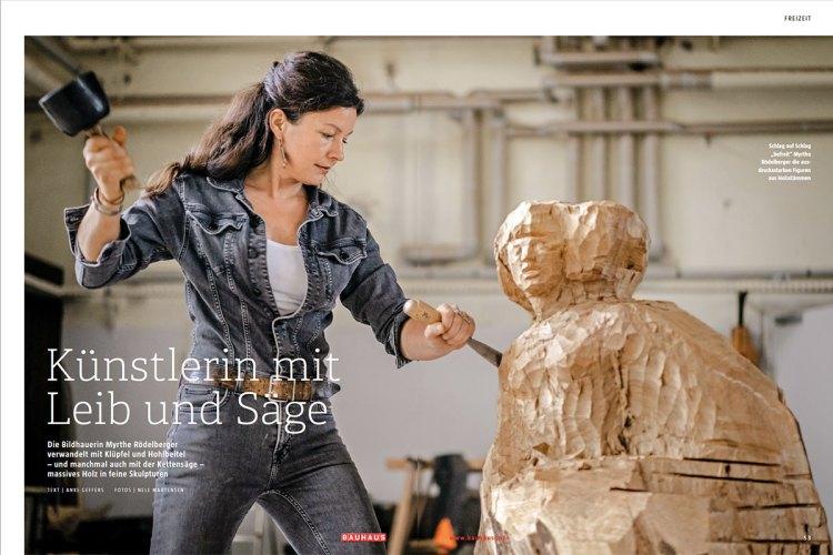 Bauhaus Bildhauerin