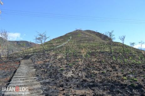 Bukit Hangus Terbakar