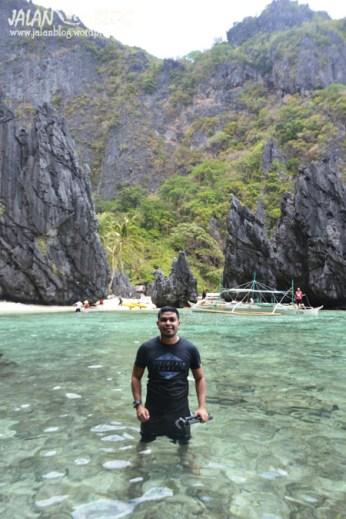 Didepan small lagoon