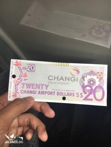 Changi Airport Dollars