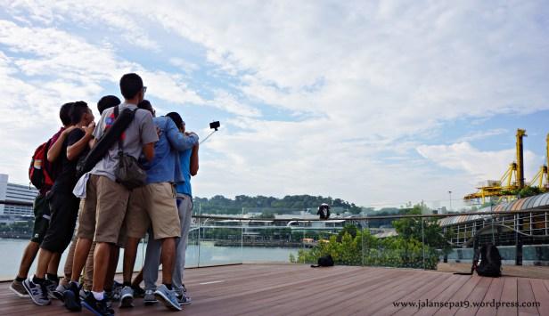 Selfie Sentosa Island