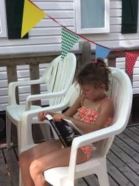 Kinderen lezen Eeuwig Donker