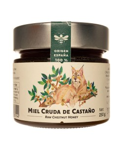 Miel de Castaño pura 250 gr
