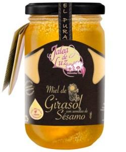 Miel de Girasol con Semillas de Sésamo 500 gr